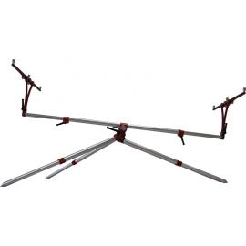 TECH-NICK - 3 Rods Acciaio & Rosso